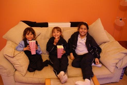 Movie Night Girls