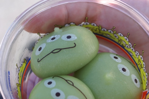 Little Green Men Mochi from Tokyo DisneySea