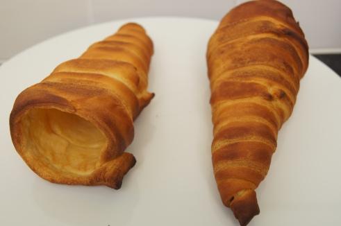 Croissant cones