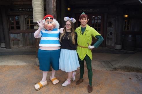 Disneyland Paris Peter Pan and Smee