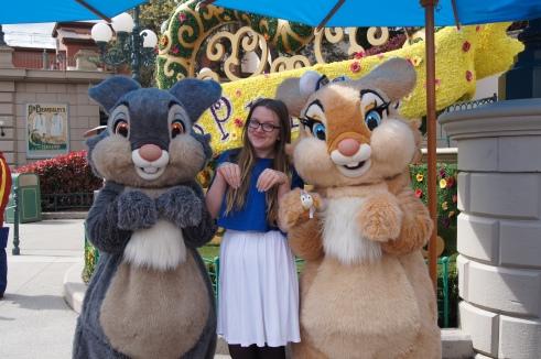 Disneyland Paris Spring Bunnies