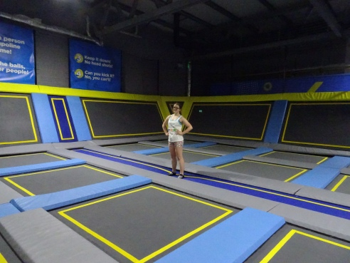 Oxygen Freejumping Airborne Fitness