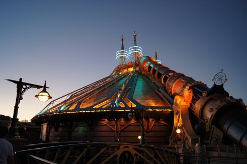 Disneyland Paris - Space Mountain