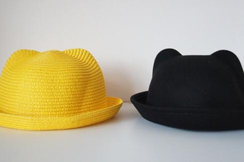 Cat bowler hat