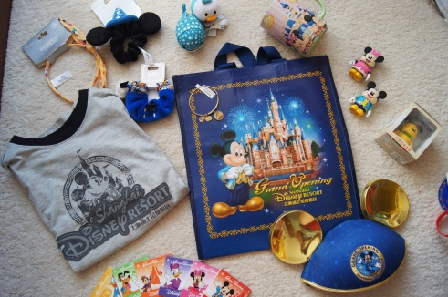 Shanghai Disneyland merchandise