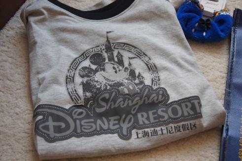 Shanghai Disneyland t-shirt