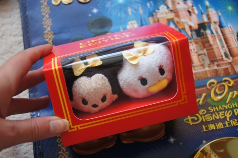 Shanghai Disney Store limited edition tsum tsums