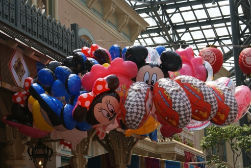 Tokyo Disneyland balloons