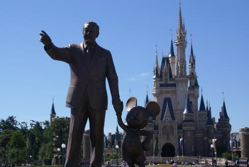 Tokyo Disneyland Partner Statue