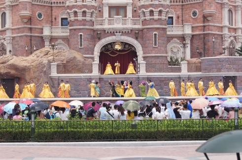 Shanghai Disneyland Golden Fairytale Fanfare