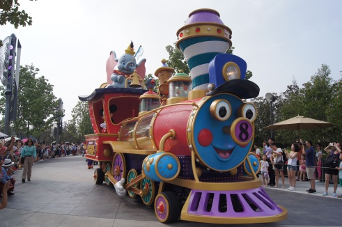 Shanghai Disneyland Mickey's Storybook Express