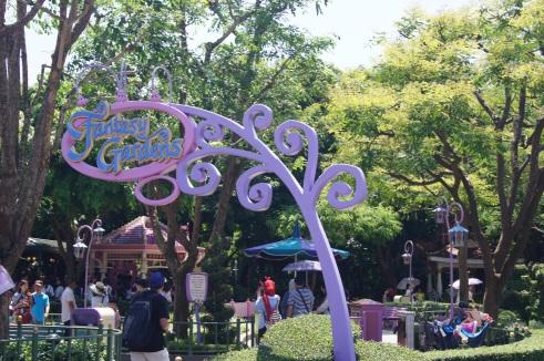 Hong Kong Disneyland Fantasy Gardens