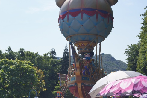 Hong Kong Disneyland Flights of Fantasy