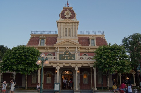 Hong Kong Disneyland City Hall