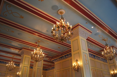 Shanghai Disneyland Royal Banquet Hall