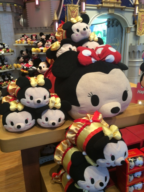 Shanghai Disney Store tsum tsums