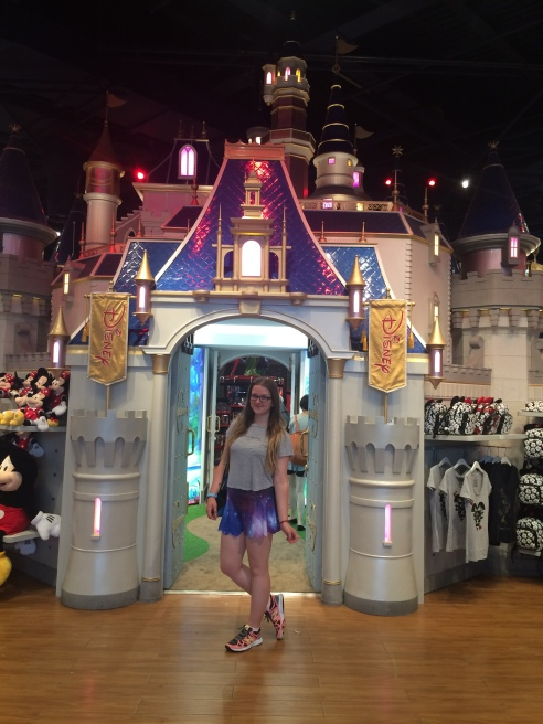 Shanghai Disney Store castle