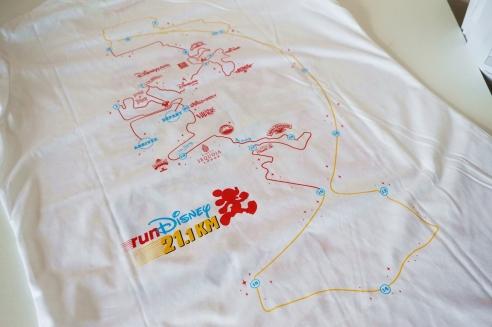 RunDisney Paris tshirts
