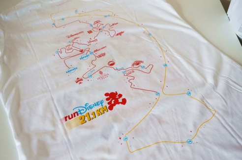 RunDisney Paris tshirts