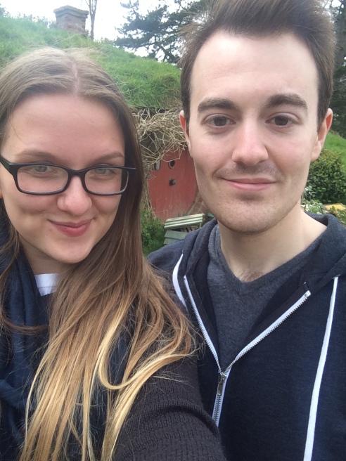 Hobbiton selfie