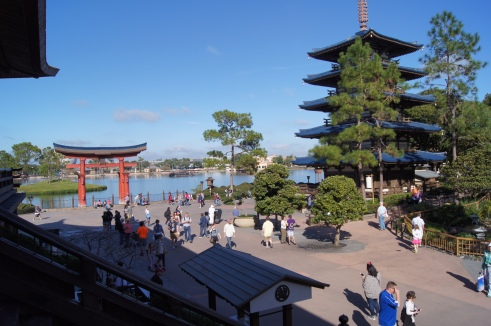 Epcot World Showcase Japan