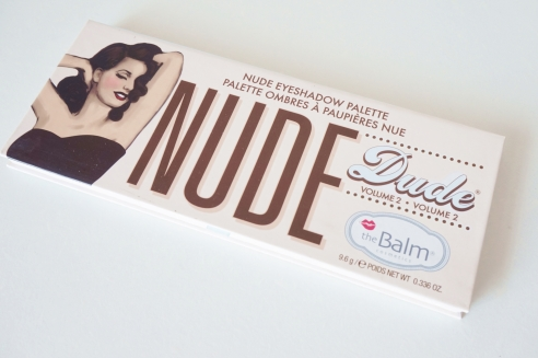 TheBalm Nude Dude review