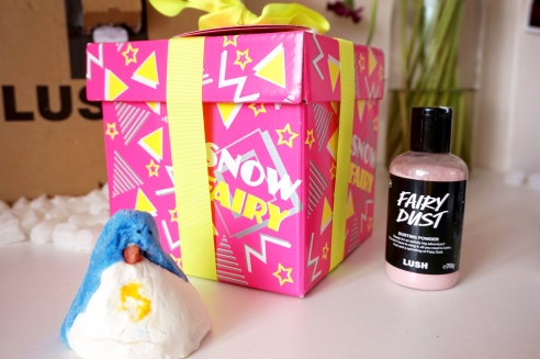 Lush Christmas products
