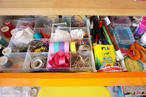 my craft drawer