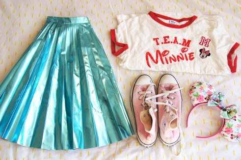 Team Minnie Disney Outfit