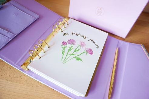 Peony Happiness Planner