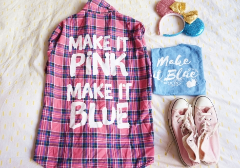Make it pink, make it blue