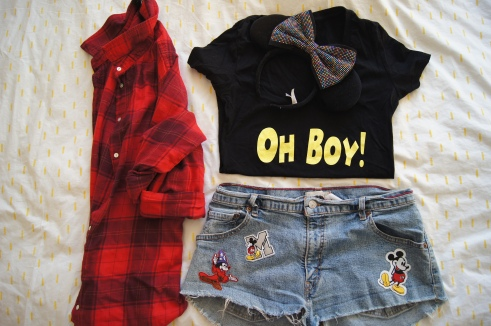 Mickey's Backyard BBQ outfit